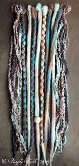 hairstyles for bead extensions 10 mixed native sand tie dye wool synthetic dreadlock clip in