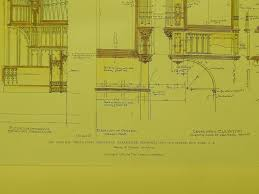 organ case broadway tabernacle new york ny 1905 original plan