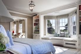 Bedroom Bed In Front Of Window John B Murray Architect