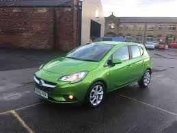 vauxhall green used vauxhall corsa hatchback 1 4 i ecoflex excite 5dr a c in