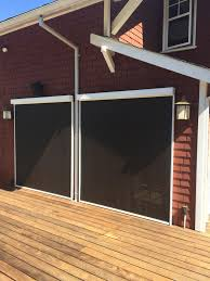 exterior shades for windows motorized shades