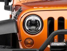 headlights jeep wrangler 2007 2018 jeep wrangler headlights extremeterrain free shipping