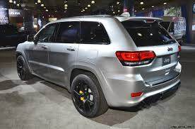 trackhawk jeep black 3 5s 180mph 2018 jeep grand cherokee srt trackhawk 25 photo