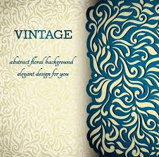 vintage ornate ornaments pattern background 03 vector