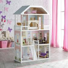 House Of Furniture Kidkraft Chelsea Dollhouse 65054 Hayneedle
