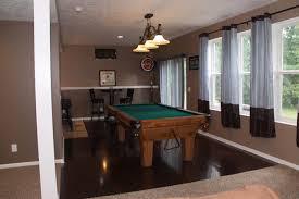 finished walkout basement walk out basement finishing ideas modern basement cleveland