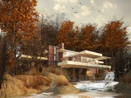 designanthology the falling water house by frank lloyd wright