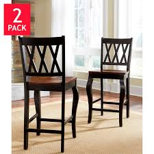 2 Chair Dining Table Roslyn Counter Height Dining Chair 2 Pack