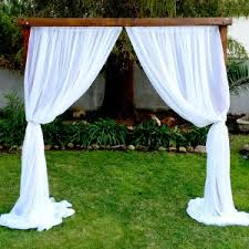 wedding arches to rent rent wood wedding arch just 4 party rentals santa barbara