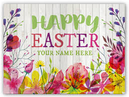 easter greeting cards rustic floral easter postcard pc10595 harrison
