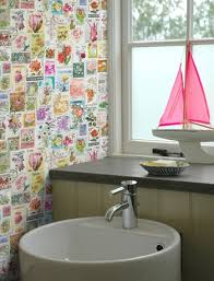 bathroom with wallpaper ideas bathroom wallpaper ideas