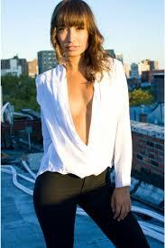 open blouse wrap blouse
