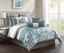 Pixel Comforter Set Aqua And Brown Bedding Queen Bed Aqua Bedding Sets Queen Kmyehai