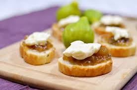 m fr canapes fig brie appetizers i nap