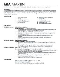 Resume Sample For Secretary by Best 25 Executive Resume Template Ideas Only On Pinterest