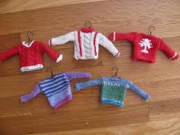miniature sweater pattern sweater
