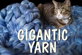 giant arm knitting yarn in natural fibers