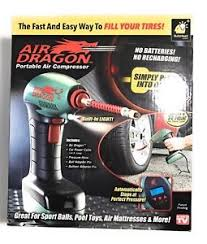 as seen on tv portable light air dragon as seen on tv portable air compressor w built in led