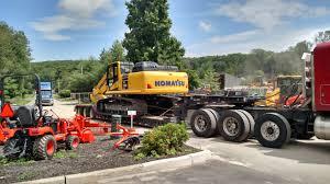 komatsu pc360lc 11 hydraulic excavator rental pine bush