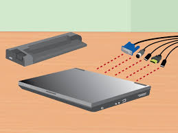 how to dock a laptop 11 steps with pictures wikihow