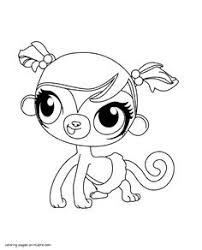 cute kitten littlest pet shop coloring pages animal coloring