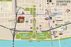 Zip Code Map St Louis by Visiting America U0027s Center Explore St Louis