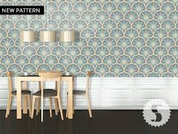 Temporary Wall Paper   wallpaper temporary removable wallpaper geo diamond jewel