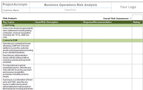 perform quantitative risk analysis templates project management