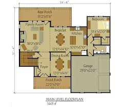 4 bedroom floor plans 2 story 2 story 4 bedroom rustic house floor plan by max fulbright