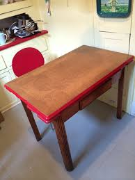 vintage enamel kitchen table vintage enamel top kitchen table w 4 free chairs in suffolk county