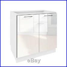 white gloss kitchen unit doors white gloss kitchen unit cabinet base cupboard 80cm 800mm 2