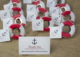 nautical wedding favors lifesaver bottle opener for a or nautical wedding or bridal