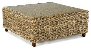 Wicker Storage Ottoman Coffee Table Wicker Storage Coffee Table Outdoor Wicker Coffee Table With