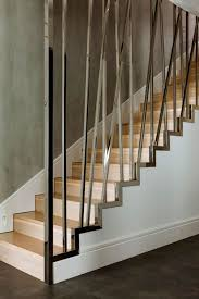 Apartment Stairs Design Iron Banister Staircase Wooden Staircase Apartment Interior Design