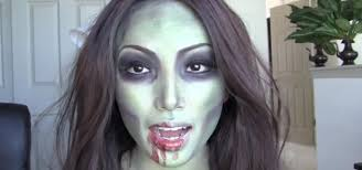how to create a simple zombie makeup look for halloween
