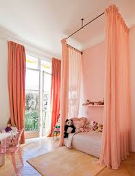 diy canopy bed with curtain rods diy ideas for getting the look of diy canopy bed with curtain rods ceiling mounted bed curtains apartment therapy