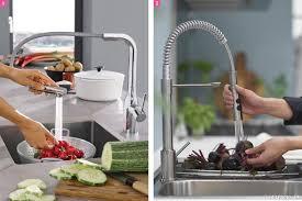 mitigeur cuisine avec douchette extractible robinet mitigeur douchette cuisine awesome robinet mural castorama