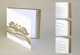 Wedding Inserts Luxury Wedding Stationery From Dfrost Design Additional