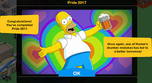 simpsons thanksgiving pride 2017 kwik tap guide the simpsons tapped out topix