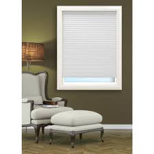 Blackout Paper Shades Walmart by 1 2 3 White Shade Vinyl Room Darkening Temporary Pleated Shades