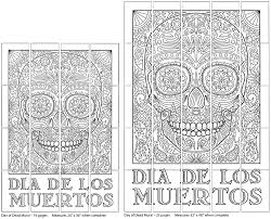 day of the dead mural art projects for kids