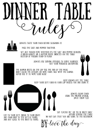 Formal Table Setting Proper Place Setting Tutorials Love The Day