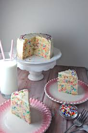 funfetti cake the millennial cook
