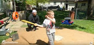 dad builds backyard baseball field thepostgame com
