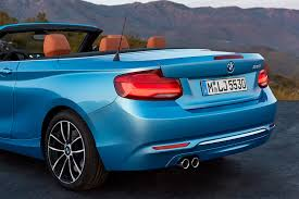 2018 bmw 2 series convertible rear end motor trend
