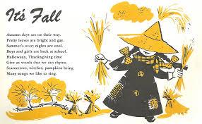 thanksgiving rhyme kuriosas 1960 u0027s children u0027s song book