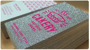 sparkle business cards from jukeboxprint