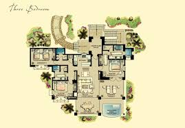 villa floor plans pleasant design ideas 5 3 bed villa floor plans homeca
