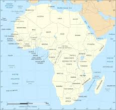 World Map Continents And Countries by Map Of Africa Continent World Map