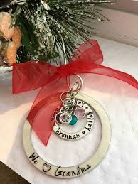 personalized birthstone ornaments ornament personalized ornaments custom sted
